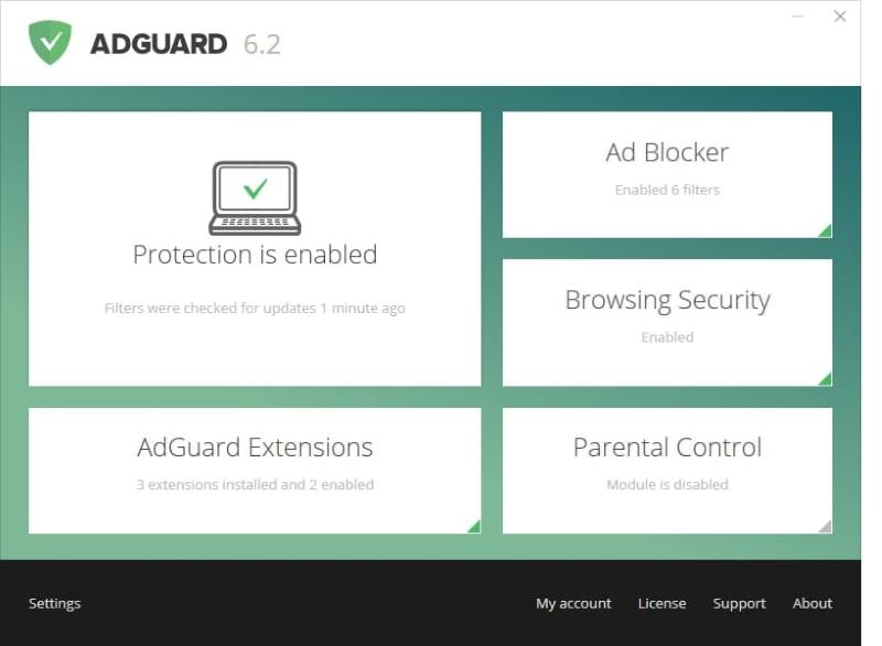 блокировщик всплывающих окон adguard