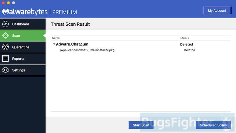 Malwarebytes для Mac