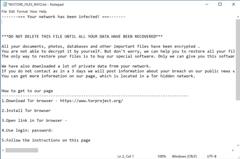 haron ransomware
