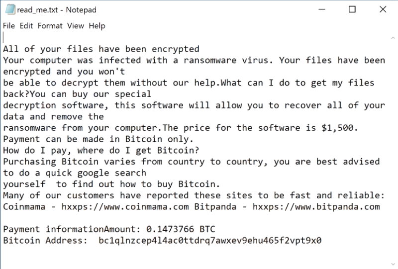 pay us ransomware